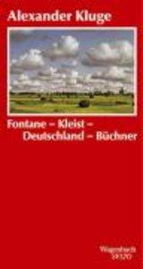Fontane-Kleist-Deutschland-Büchner