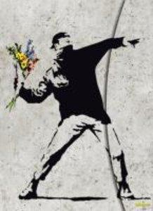 """Banksy """"Flower Bomber"""""""