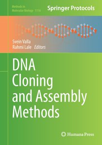 DNA Cloning and Assembly Methods