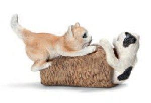 Schleich 13723 - Farm Life: Katzenjungen, spielend