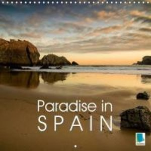 Paradise in Spain (Wall Calendar 2015 300 × 300 mm Square)
