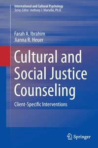 Cultural and Social Justice Counseling