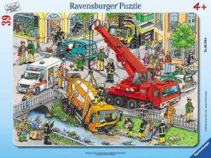 Rettungseinsatz. Puzzle mit 39 Teile