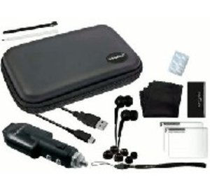 DSiXL Travel Set black