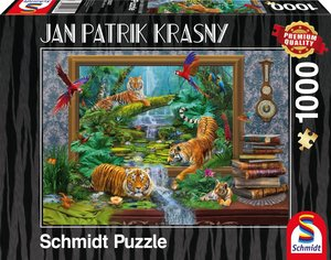 Jan Patrik Krasny/Coming to Life, Tiger im Dschungel - Zum Leben