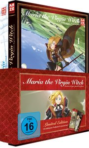 Maria the Virgin Witch (Junketsu no Maria) - DVD 1 + Band 1 [Lim