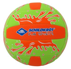 Schildkröt - Mini Beachvolley, grün orange, 15 cm, Gr. 2