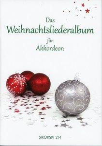 Das Weihnachtsliederalbum für Akkordeon