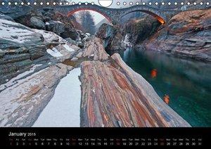 Ticino - Switzerland (Wall Calendar 2015 DIN A4 Landscape)