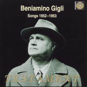 Beniamino Gigli-Songs 1952-1953