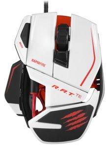 R.A.T. TEÖ Gaming-Maus für PC und Mac, weiss