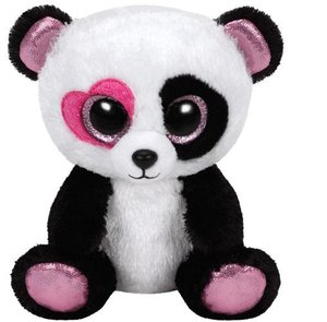 Mandy - Panda mit rosa Herzauge, 15cm, limitiert