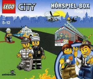 LEGO City Hörspiel 1-3 Box  (CD Box)