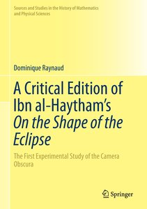 A Critical Edition of Ibn al-Haytham\'s On the Shape of the Ecli