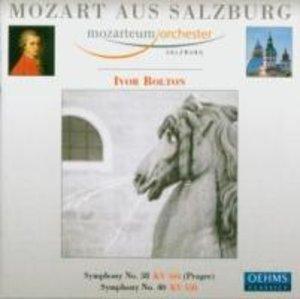 Mozart Aus Salzburg-Sinfonien 40 & 38
