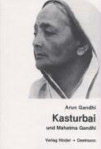 Kasturbai und Mahatma Gandhi
