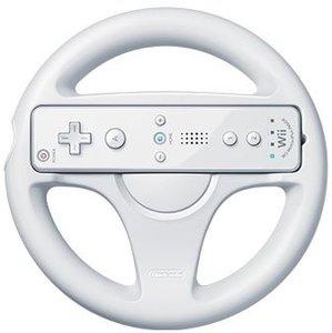 Nintendo Wheel für Wii U - Lenkrad, weiß