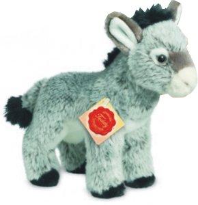 Teddy Hermann 90211 - Esel stehend, 19 cm