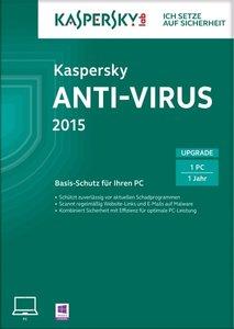 Kaspersky Anti-Virus 2015 Upgrade (FFP)