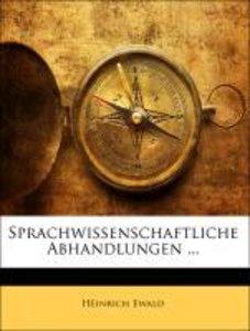 Sprachwissenschaftliche Abhandlungen ...