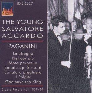 Der junge Salvatore Accardo