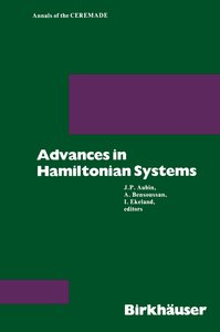 Advances in Hamiltonian Systems