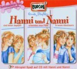 Hanni und Nanni Box 01. Folgen 1-3. Kennenlernbox. 3 CDs
