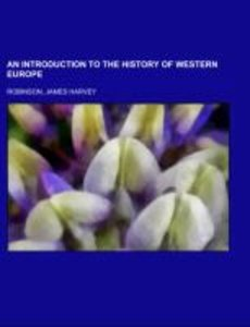 An Introduction to the History of Western Europe