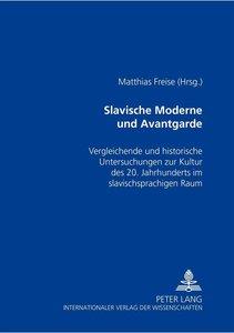 Slavische Moderne und Avantgarde