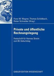 Private und öffentliche Rechnungslegung