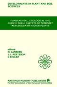 Fundamental, Ecological and Agricultural Aspects of Nitrogen Met