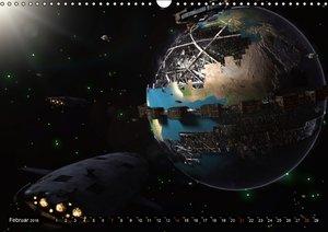 Galaktische TraumweltenAT-Version (Wandkalender 2016 DIN A3 quer