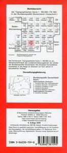 Weilheim 1 : 100 000
