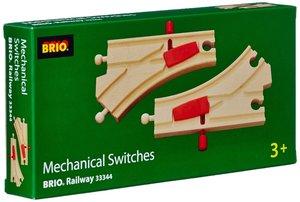 Brio 33344 - Mechanisches Weichenpaar