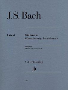 Sinfonien BWV 787-801 (Dreistimmige Inventionen)