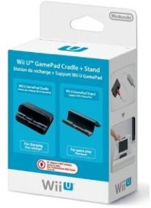 Nintendo Wii U - Gamepad Cradle + Stand