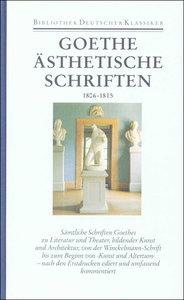 Ästhetische Schriften 1806 - 1815