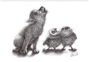owls & friends (Posterbuch DIN A3 quer)