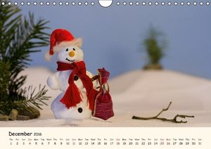 Snowman of the Month 2016 (Wall Calendar 2016 DIN A4 Landscape)