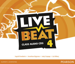 Live Beat 4 Class Audio CDs