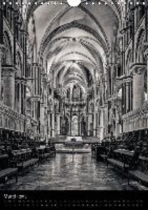 English Medieval Cathedrals (Wall Calendar 2015 DIN A4 Portrait)