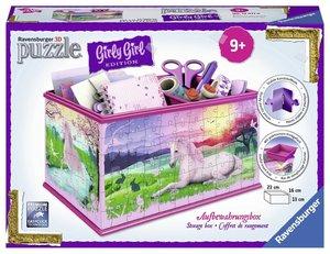 Girly Girl Edition Aufbewahrungsbox Einhörner Girly Girl Edition
