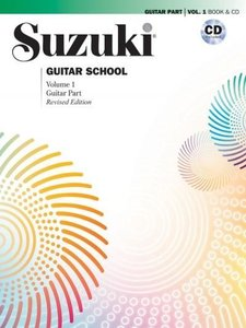 Suzuki Guitar School, Vol 1: Guitar Part, Book & CD