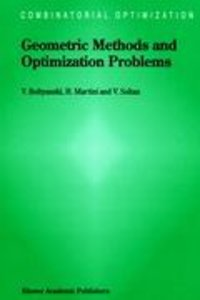 Geometric Methods and Optimization Problems