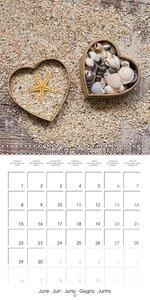 I love hearts (Wall Calendar 2015 300 × 300 mm Square)