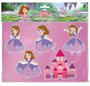 Disney Sofia die erste Zeichenschablonen
