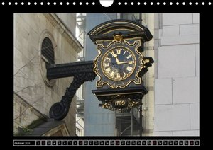 Keeping Time Large Clocks (Wall Calendar 2016 DIN A4 Landscape)