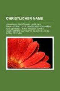 Christlicher Name