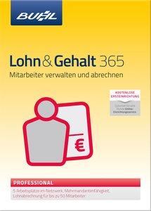 Lohn & Gehalt 365 - 2016 Professional: Mitarbeiter verwalten und