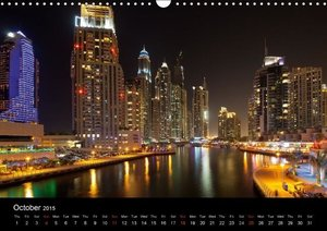 Dubai & Abu Dhabi / UK - Version (Wall Calendar 2015 DIN A3 Land